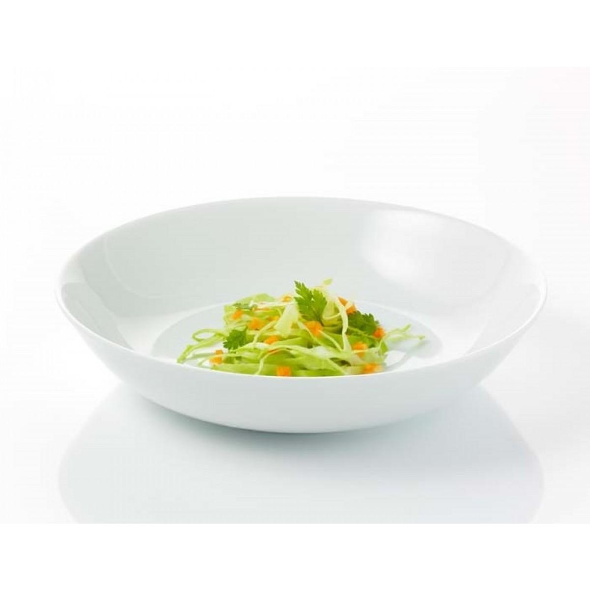 AIDA Atelier hvid suppetallerken 4 stk. 21 cm.