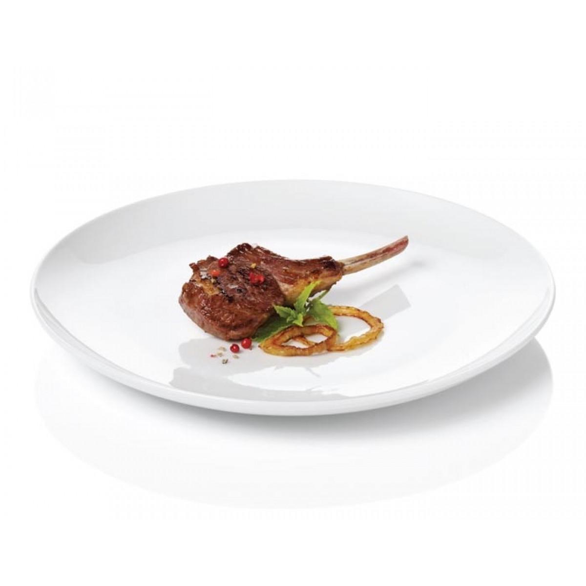 AIDA Atelier hvid frokosttallerken 4 stk. 22 cm.