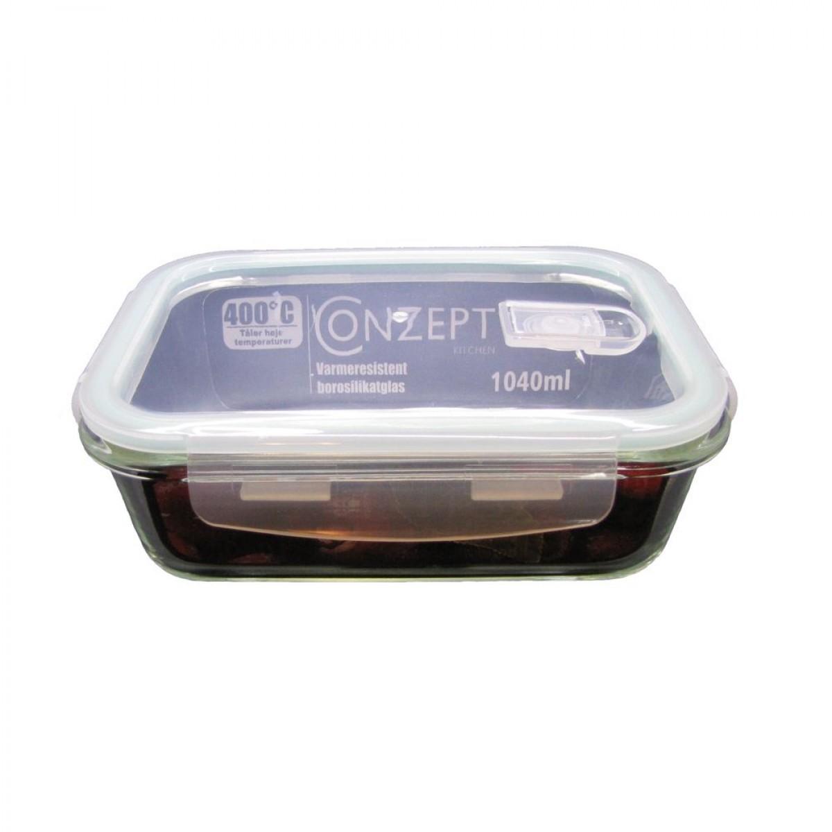 CONZEPT Glasopbevaring 1040 ml
