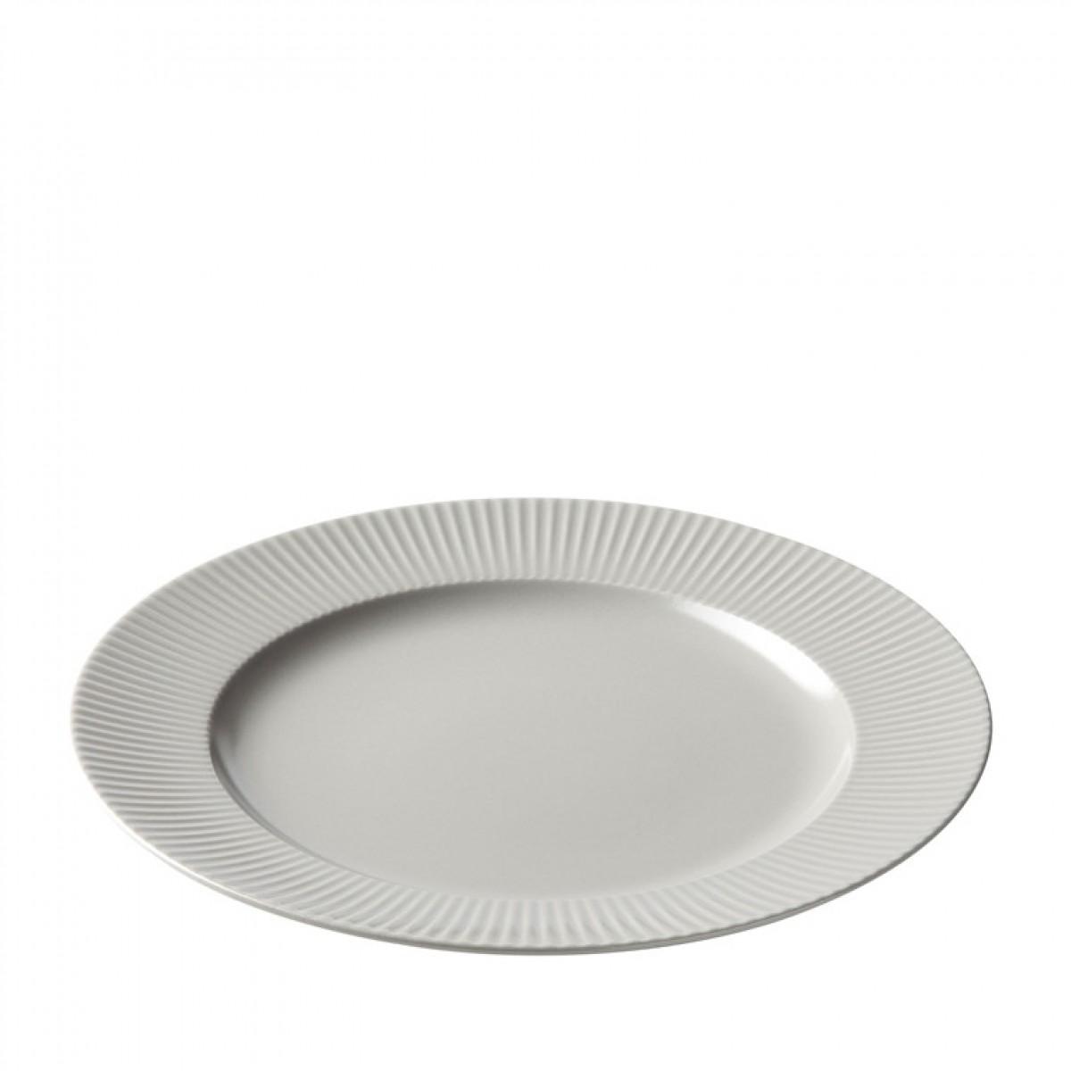 AIDA Groovy tallerken 27 cm grå