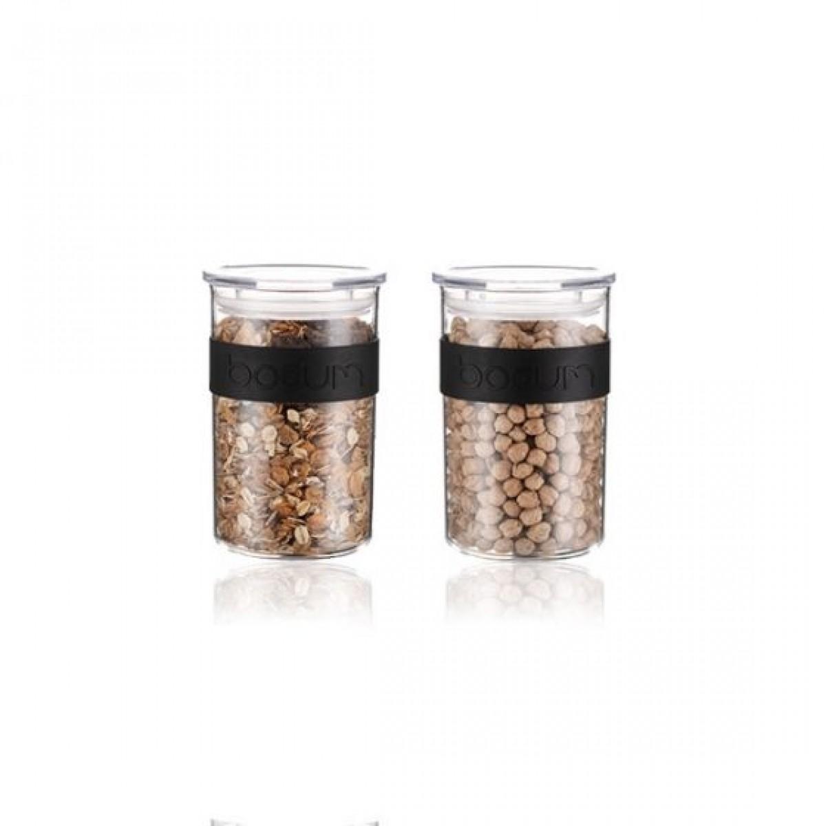 BODUM Opbevaringsglas presso 0,6 ltr brudsikkert 2 stk