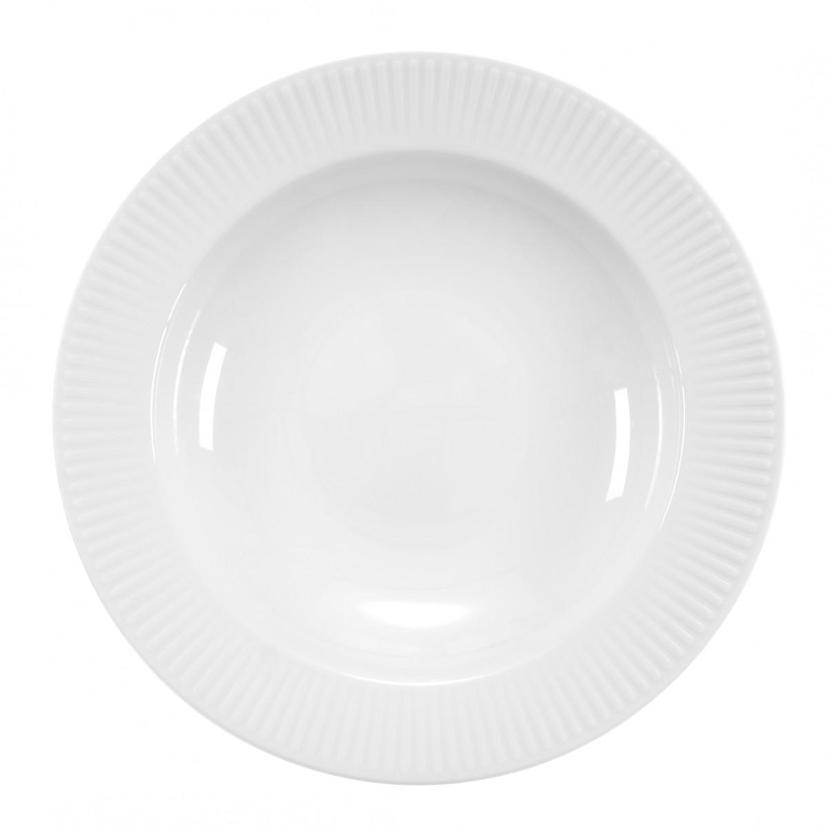BODUM Douro pastatallerken, dia. 28 cm, porcelæn, hvid 4 stk.