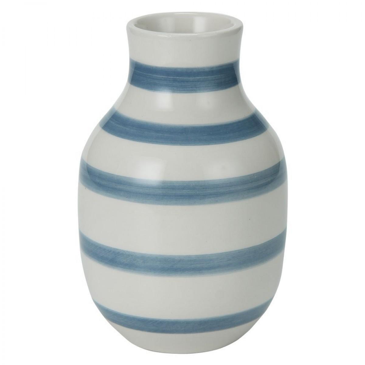 KÄHLER Omaggio vase lys blå 12,5 cm