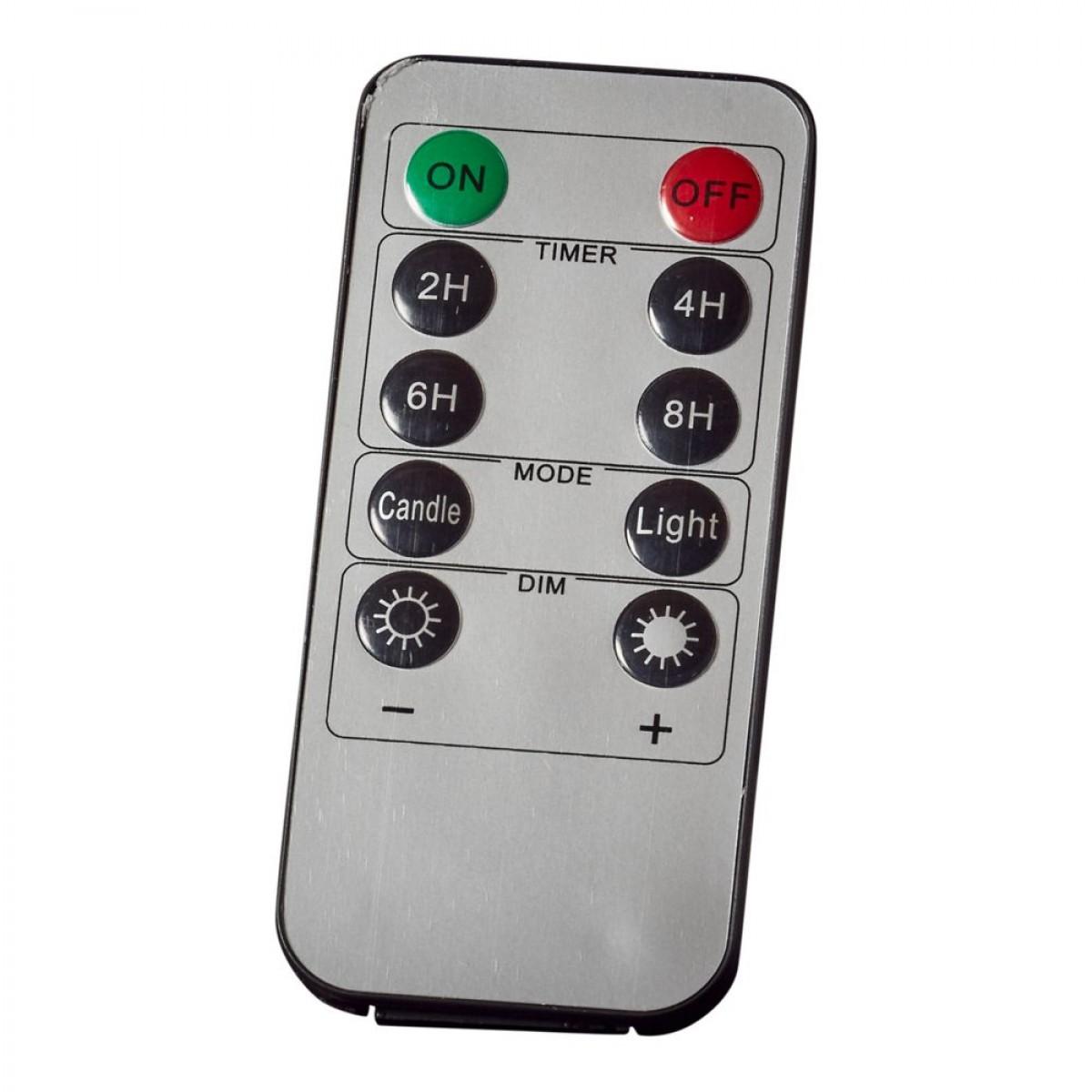 CONZEPT Multifunktionsfjernbetjening (Kan bruges til alle lys produkter med chip)
