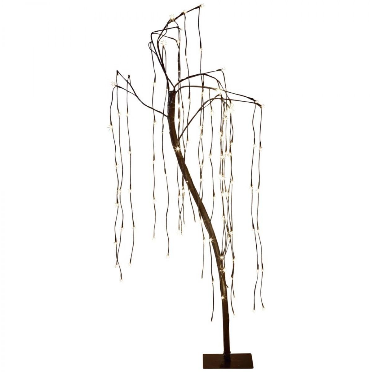 CONZEPT Hængepiltræ 120 LED varmhvid IP44 150 cm.