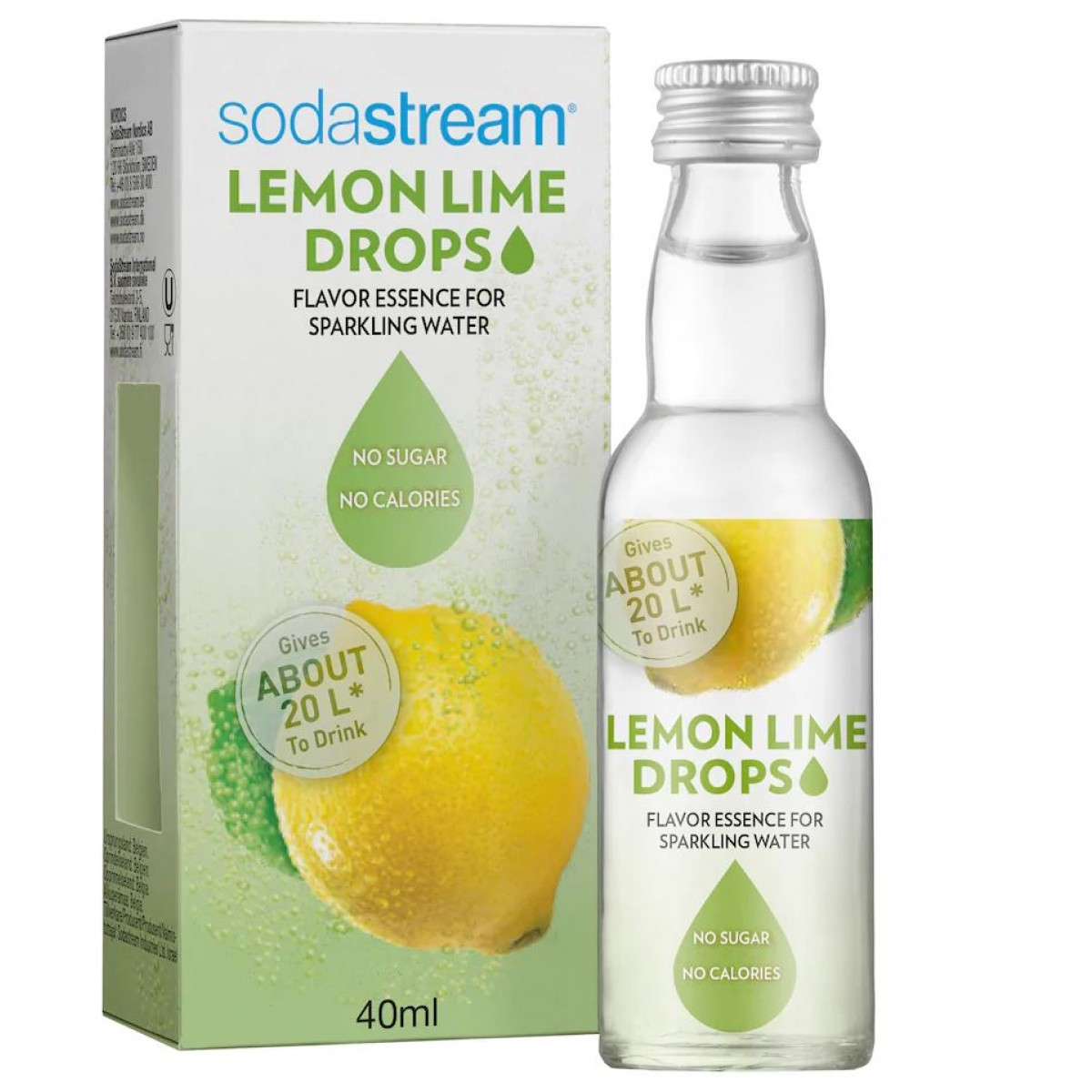 SODASTREAM Fruit drops lemon lime 40 ml