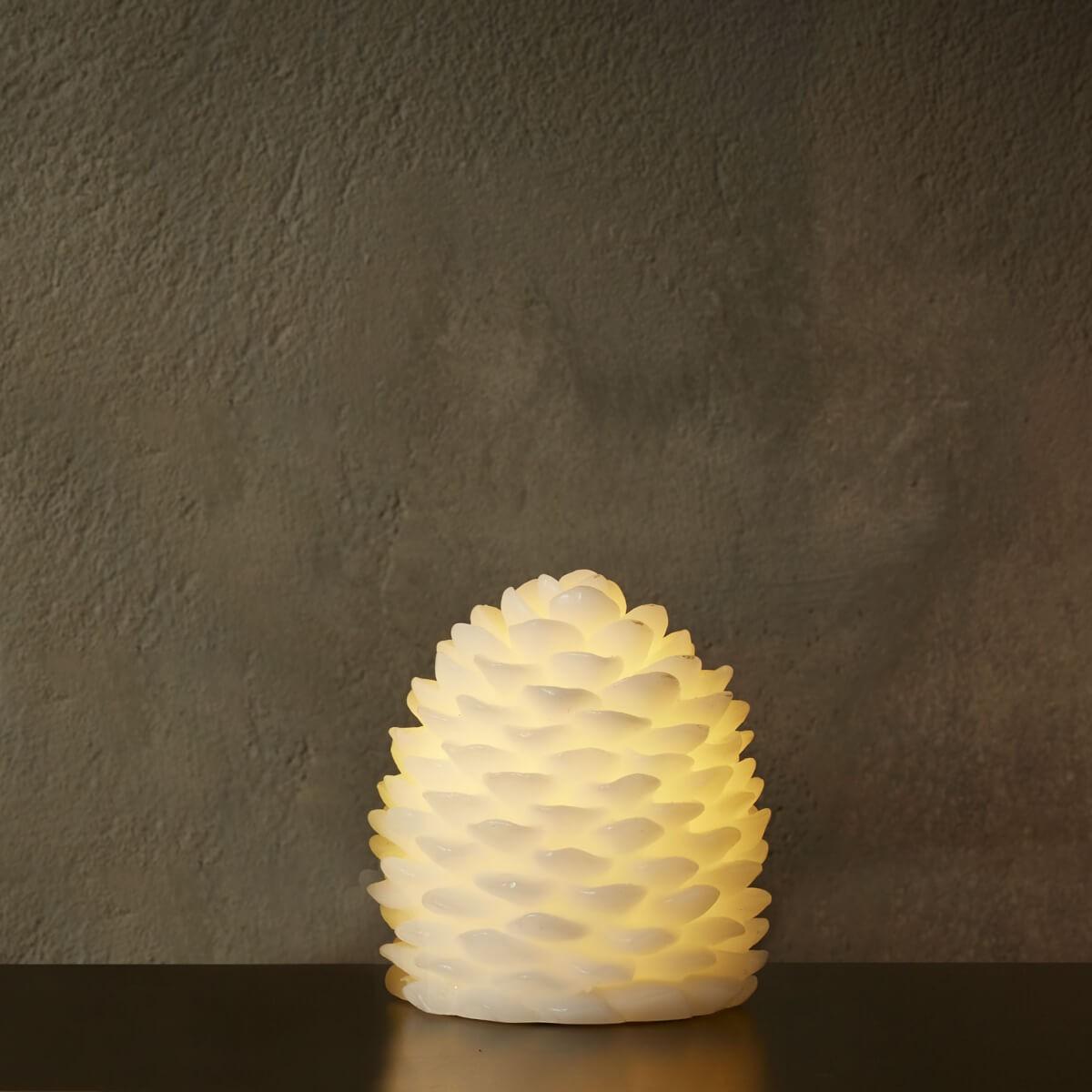 DA´CORE Kogle led lys m/chip 9 x 10 cm hvid