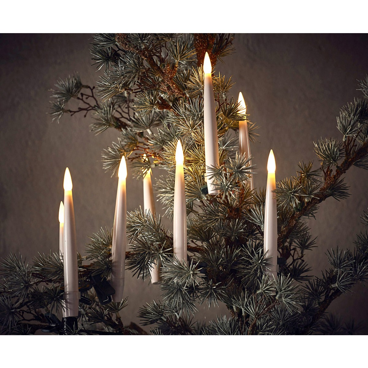 DA´CORE Juletræslys trådløs 10 stk