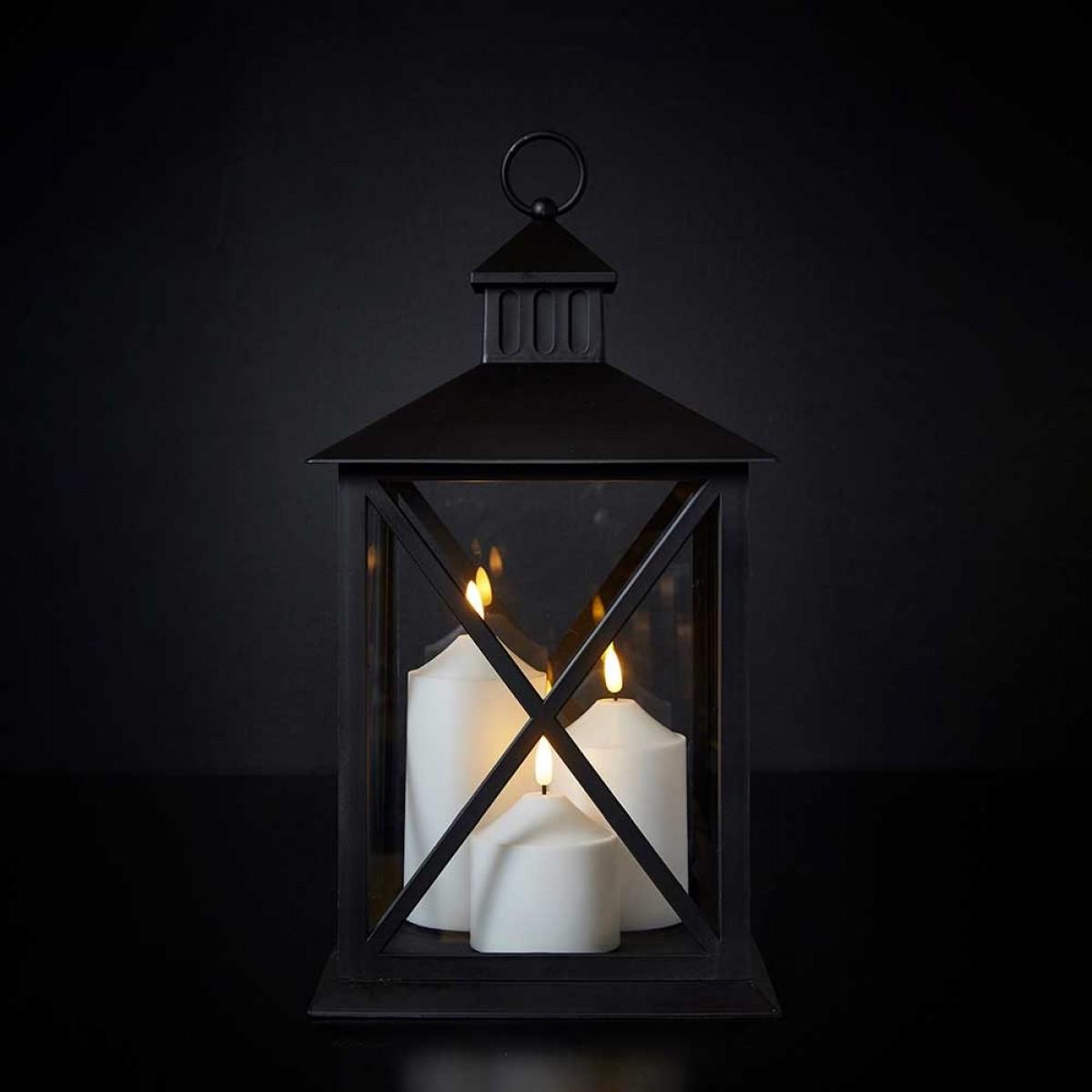 DACORE Led lanterne med timer 40 cm