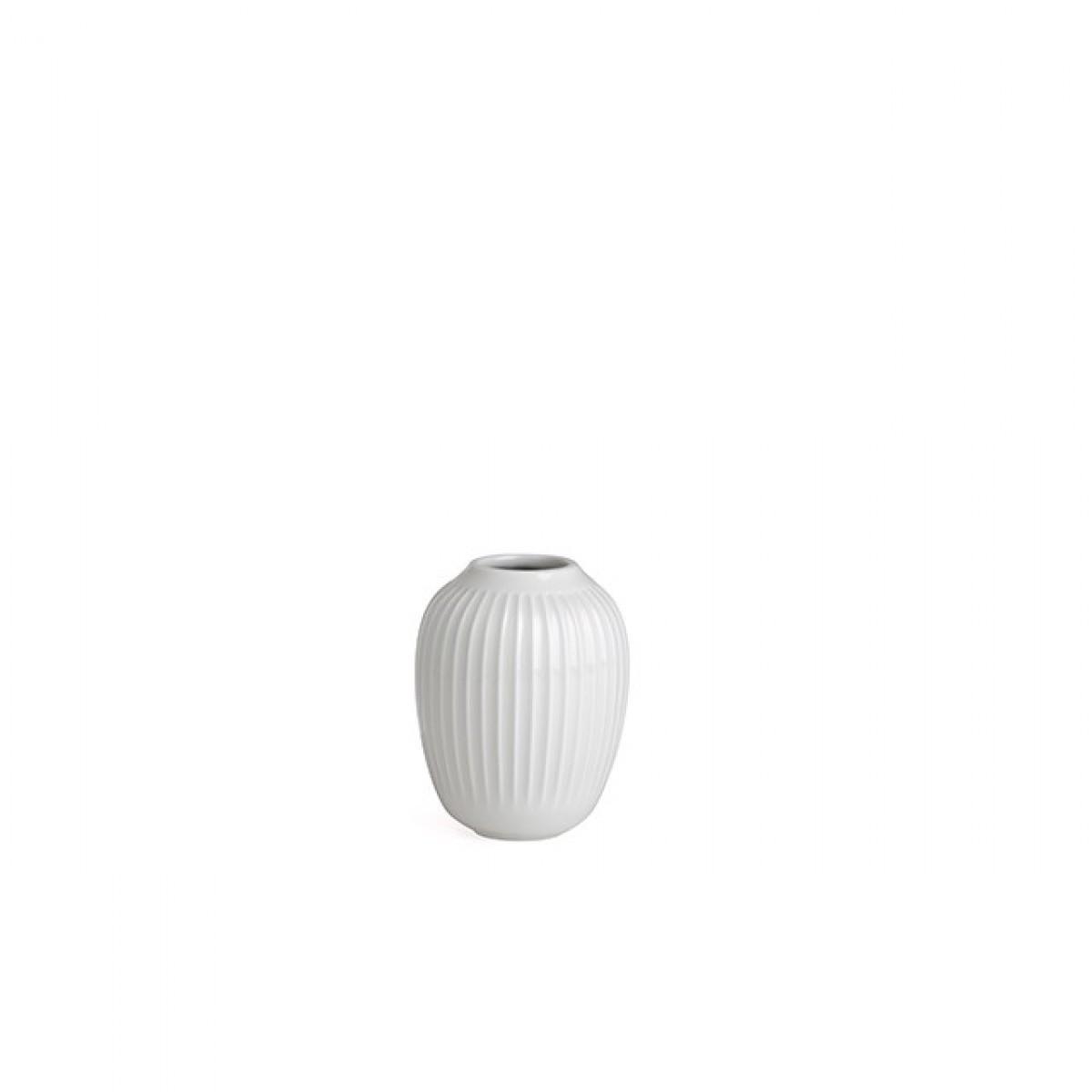KÄHLER Hammershøi vase hvid 10 cm.