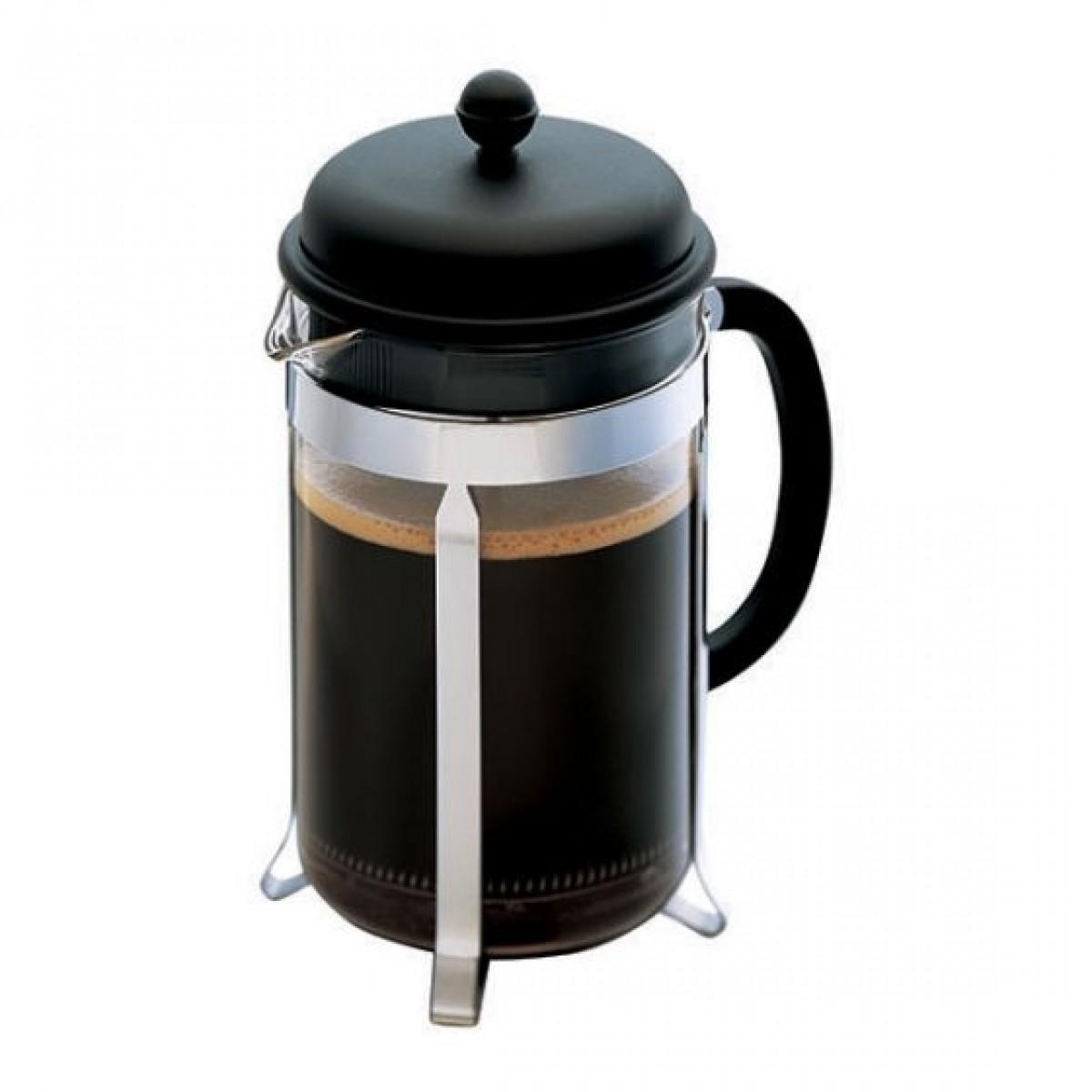 BODUM Kaffebrygger caffettiera sort 12 kops