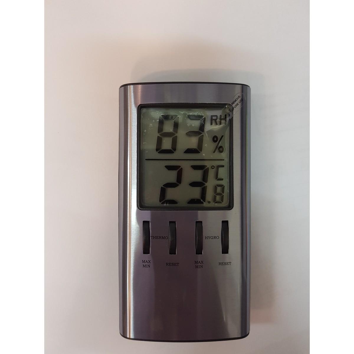 AGIMEX Digital inde termometer med hygrometer