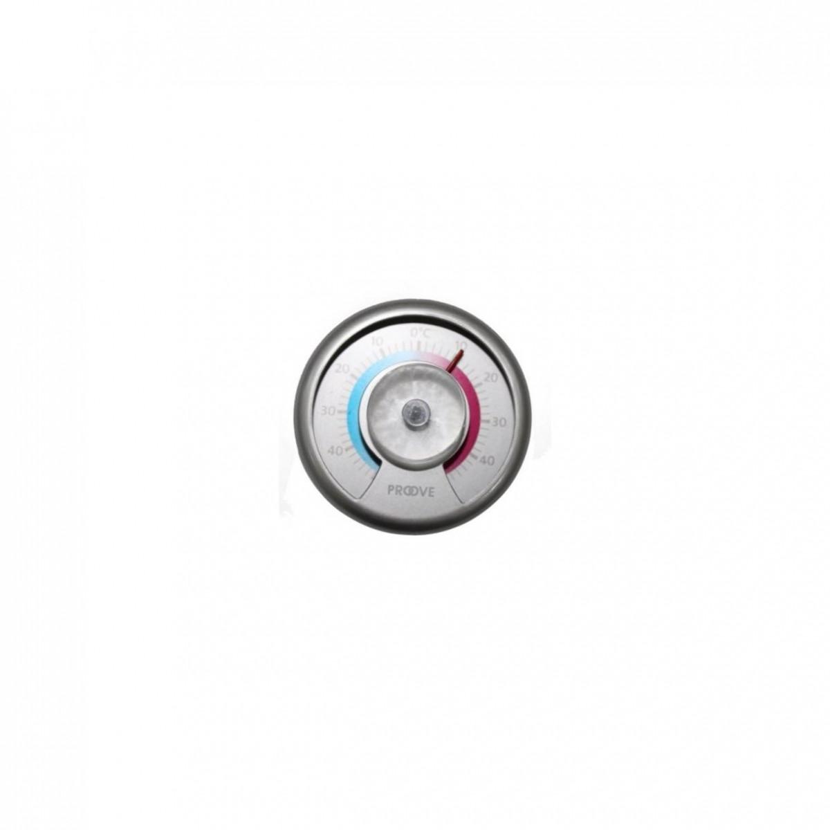 CONZEPT Vinduetermometer med sugekop ø 7,5 cm