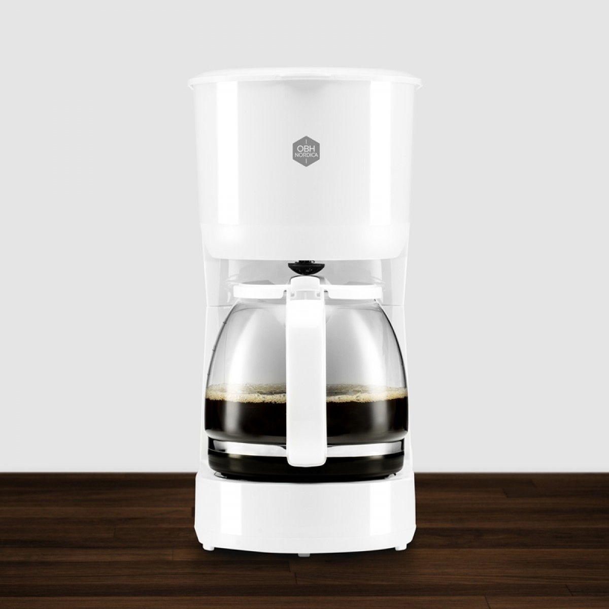OBH NORDICA Kaffemaskine daybreak hvid