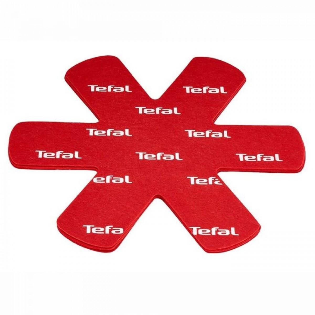 TEFAL Pandebeskyttere rød 4 stk