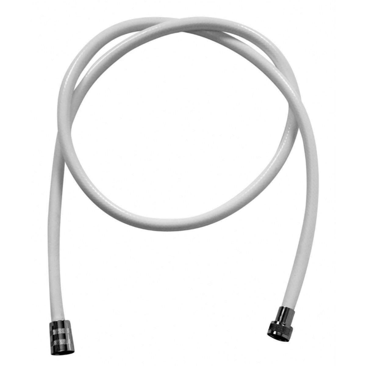 Bruseslange PVC hvid 1,5 m
