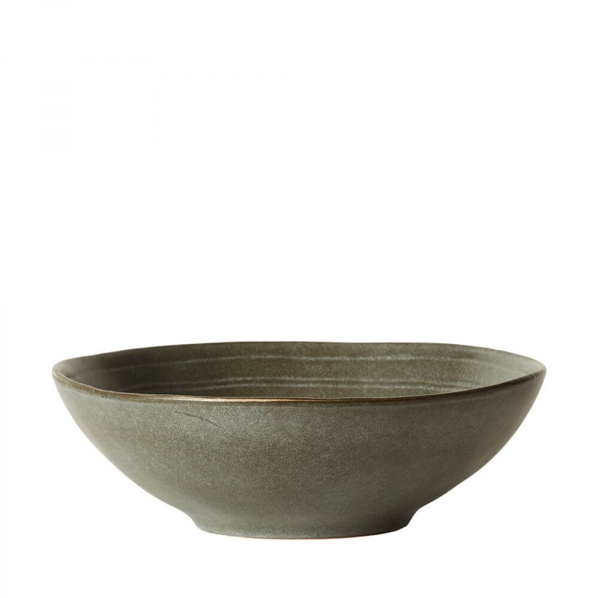 DACORE Skål stentøj 24x7 cm grå