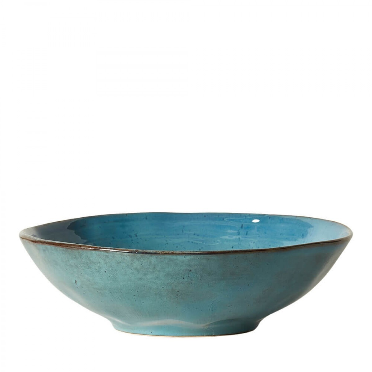 DACORE Skål stentøj 30x4 cm blå