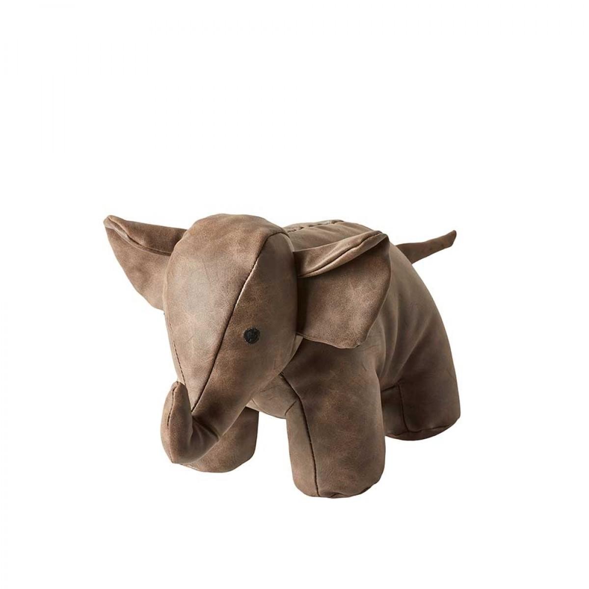 DACORE Dørstopper elefant brun 25 cm