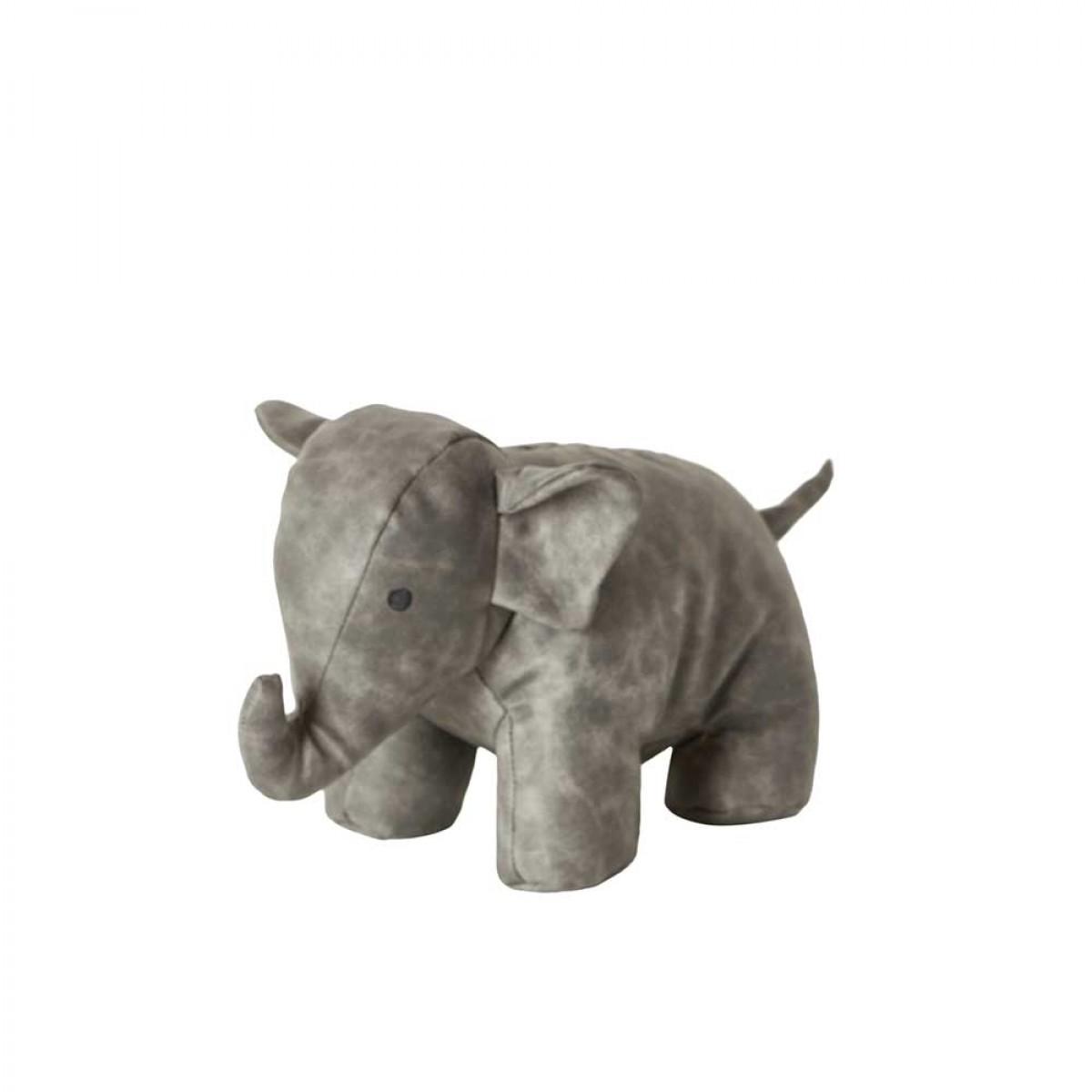 DACORE Dørstopper elefant grå 25 cm
