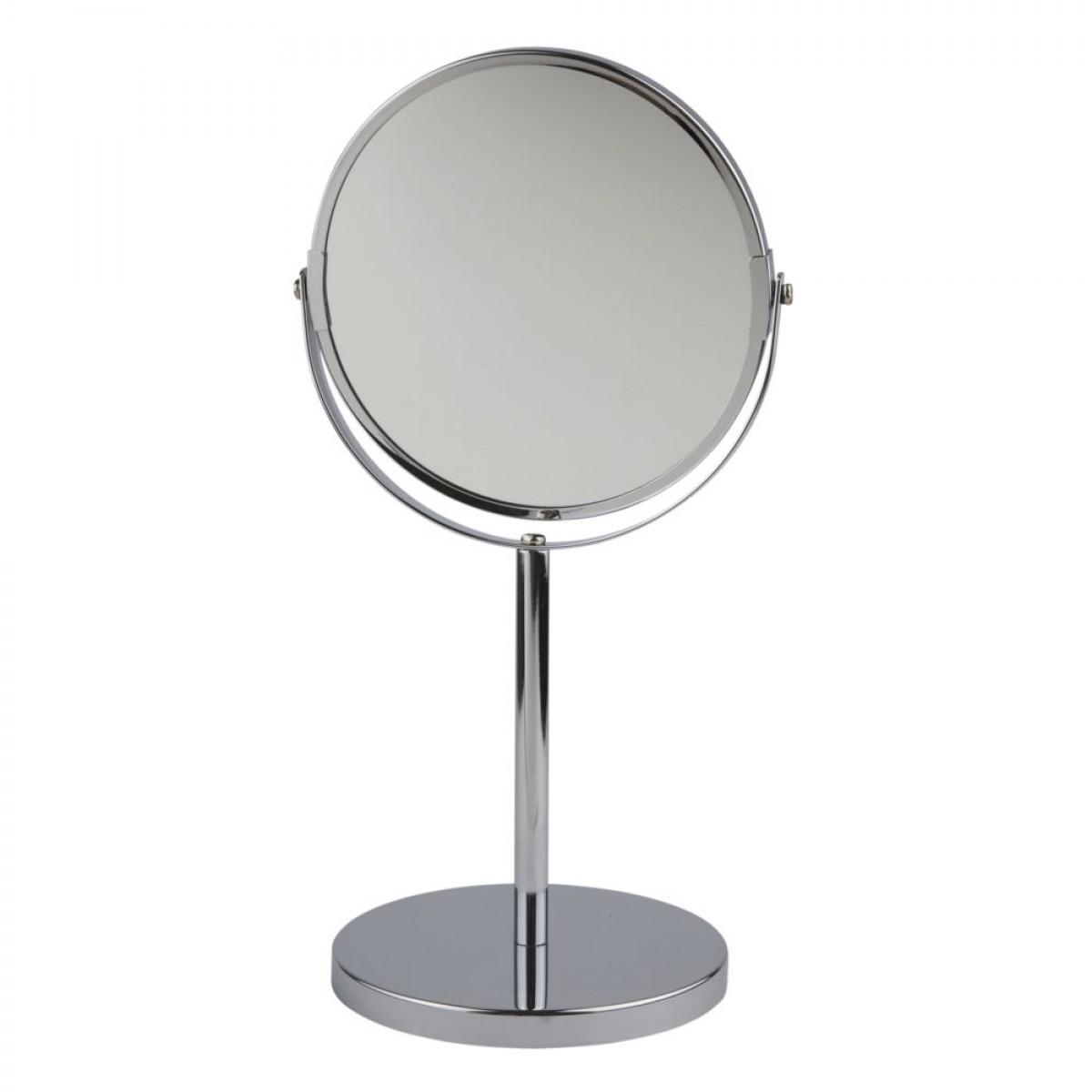 Bordspejl stål 15 cm Ø
