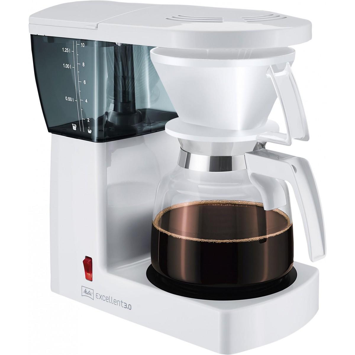 MELITTA Kaffemaskine excellent 4.0 hvid