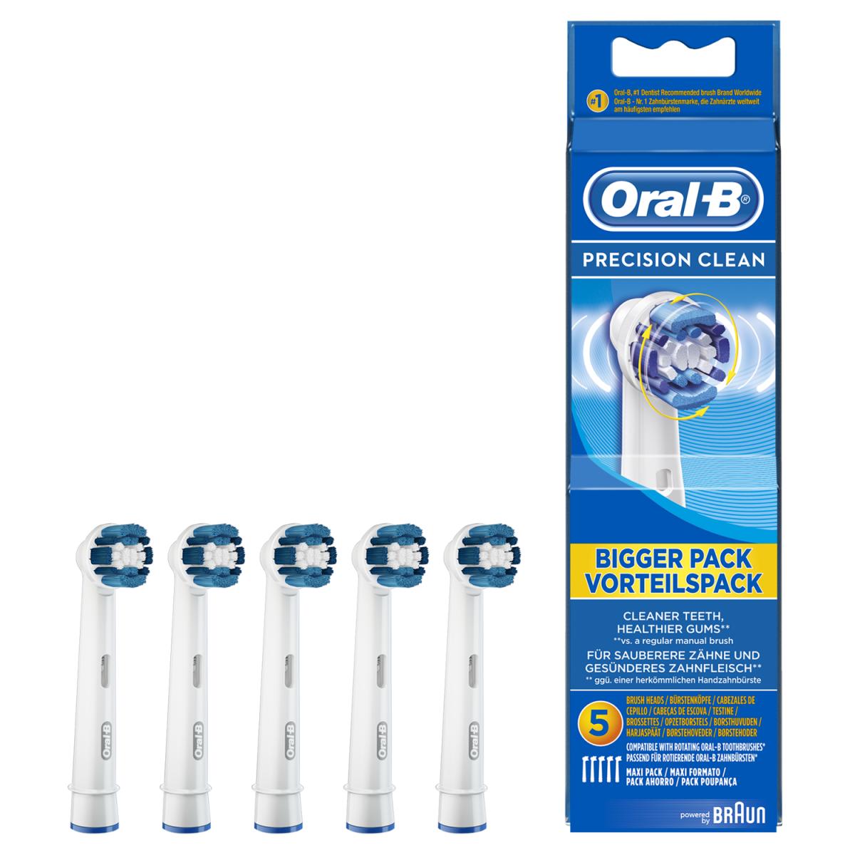 ORAL-B Børstehoveder precision clean 5 stk