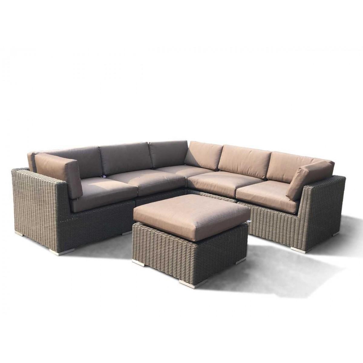 Vita lux sofasæt - brun