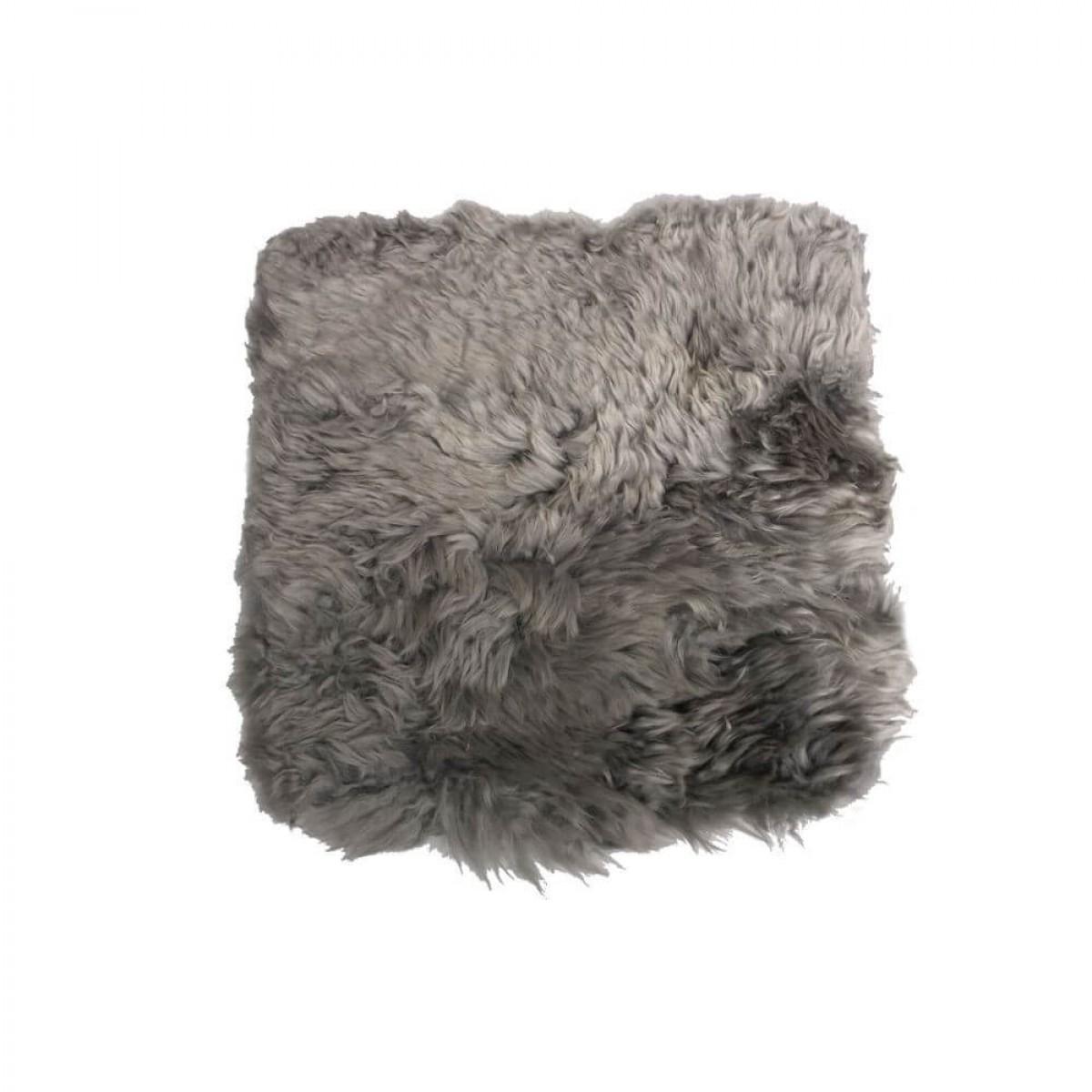 DACORE Sædehynde lammeskind Lysgrå 40 x 40 cm