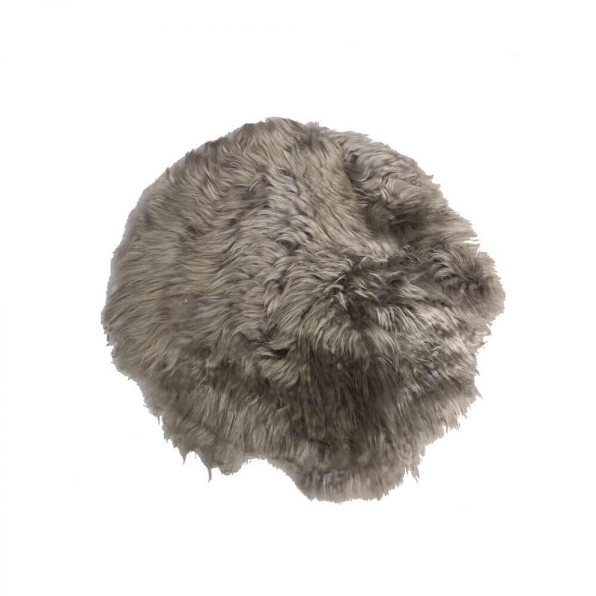 DACORE Sædehynde lammeskind stone rund ø 37 cm