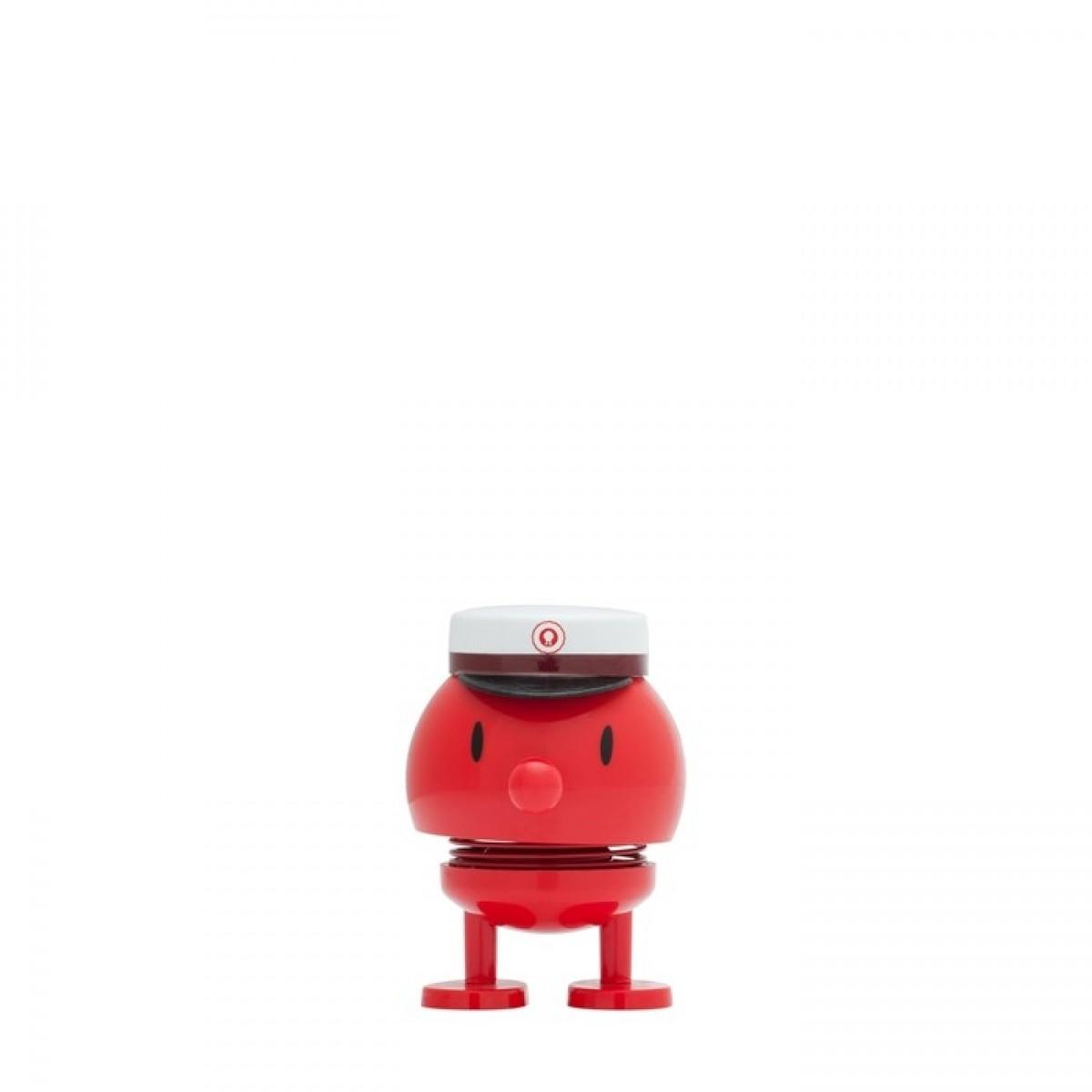 HOPTIMIST Student bumle rød 7 cm