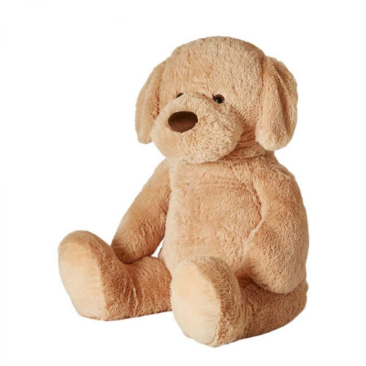 DACORE Kæmpe hund 100 cm lys brun