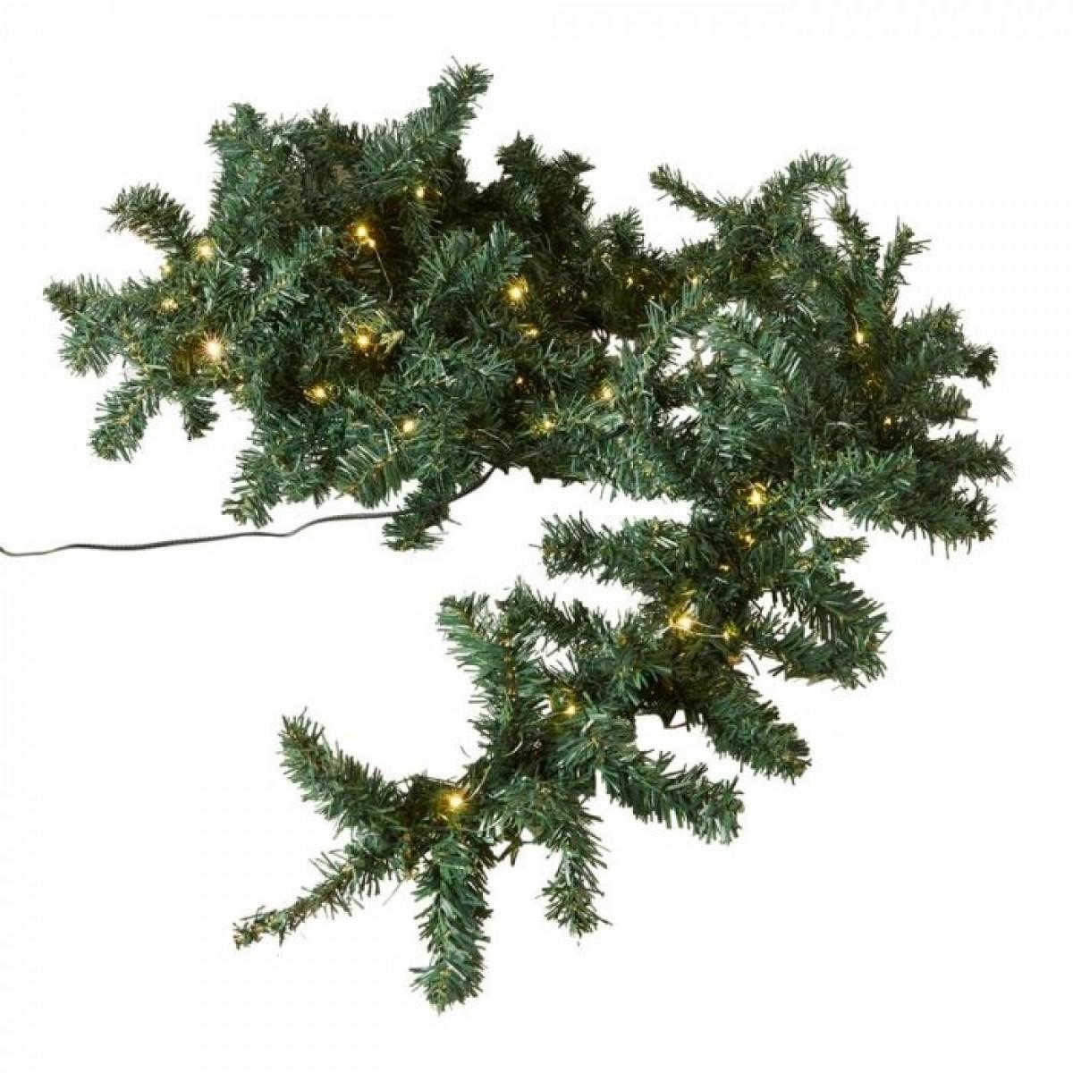 DACORE Granguirlande 270 cm 75 led grøn
