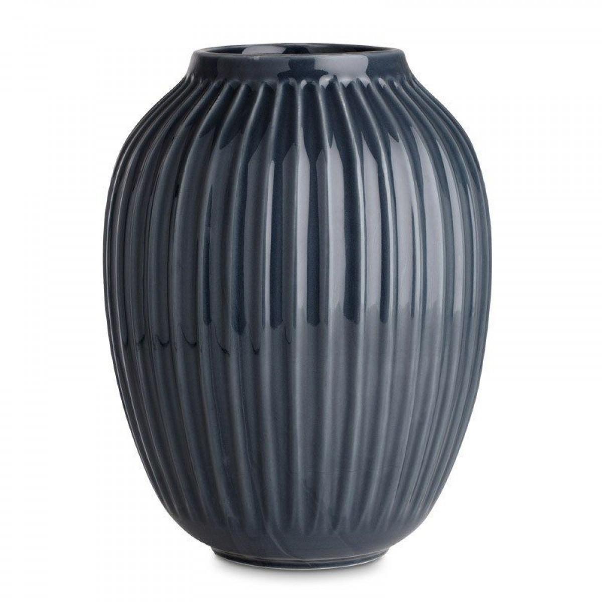 KÄHLER Hammershøi vase antracit 25 cm