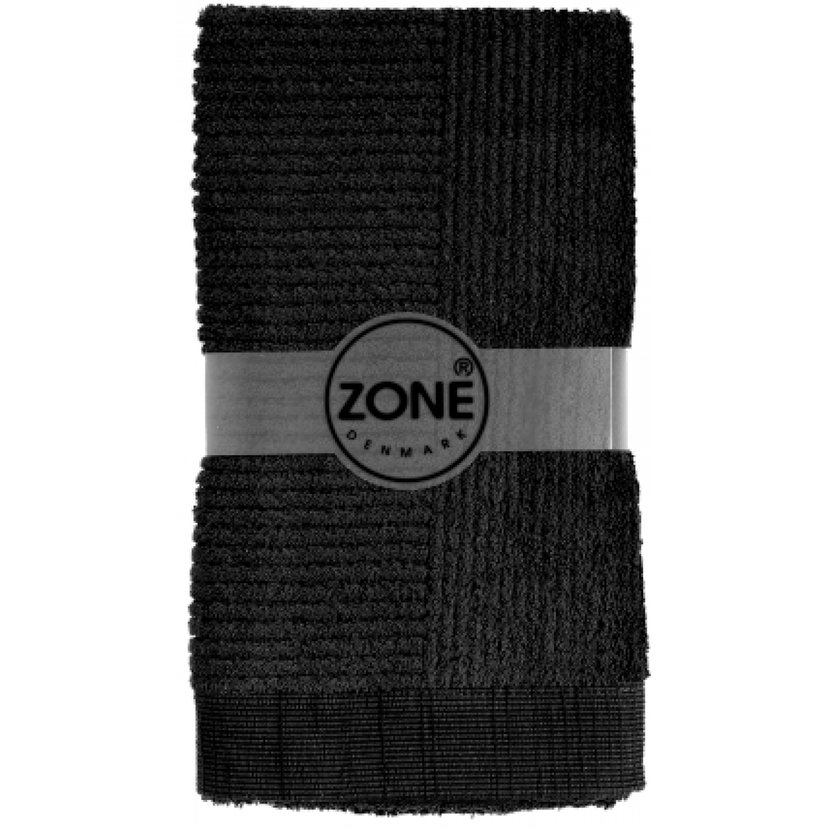 ZONE Classic håndklæde 70 x 140 cm. sort