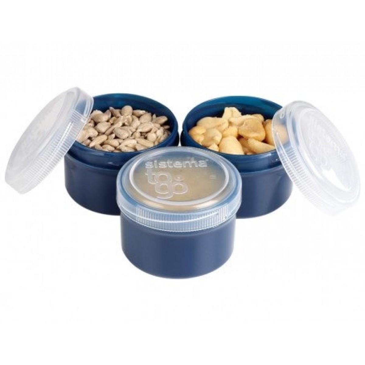 SISTEMA Mini bokse renew 3 stk - blå