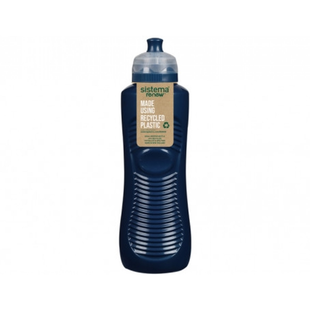 SISTEMA Drikkedunk gripper 800 ml renew - blå