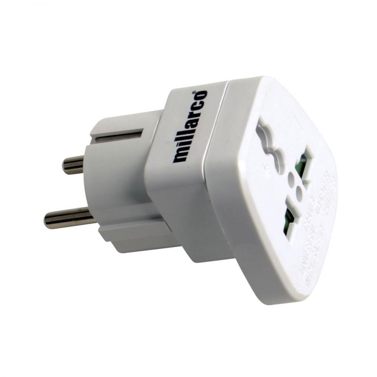 Universal adapter til brug i danmark