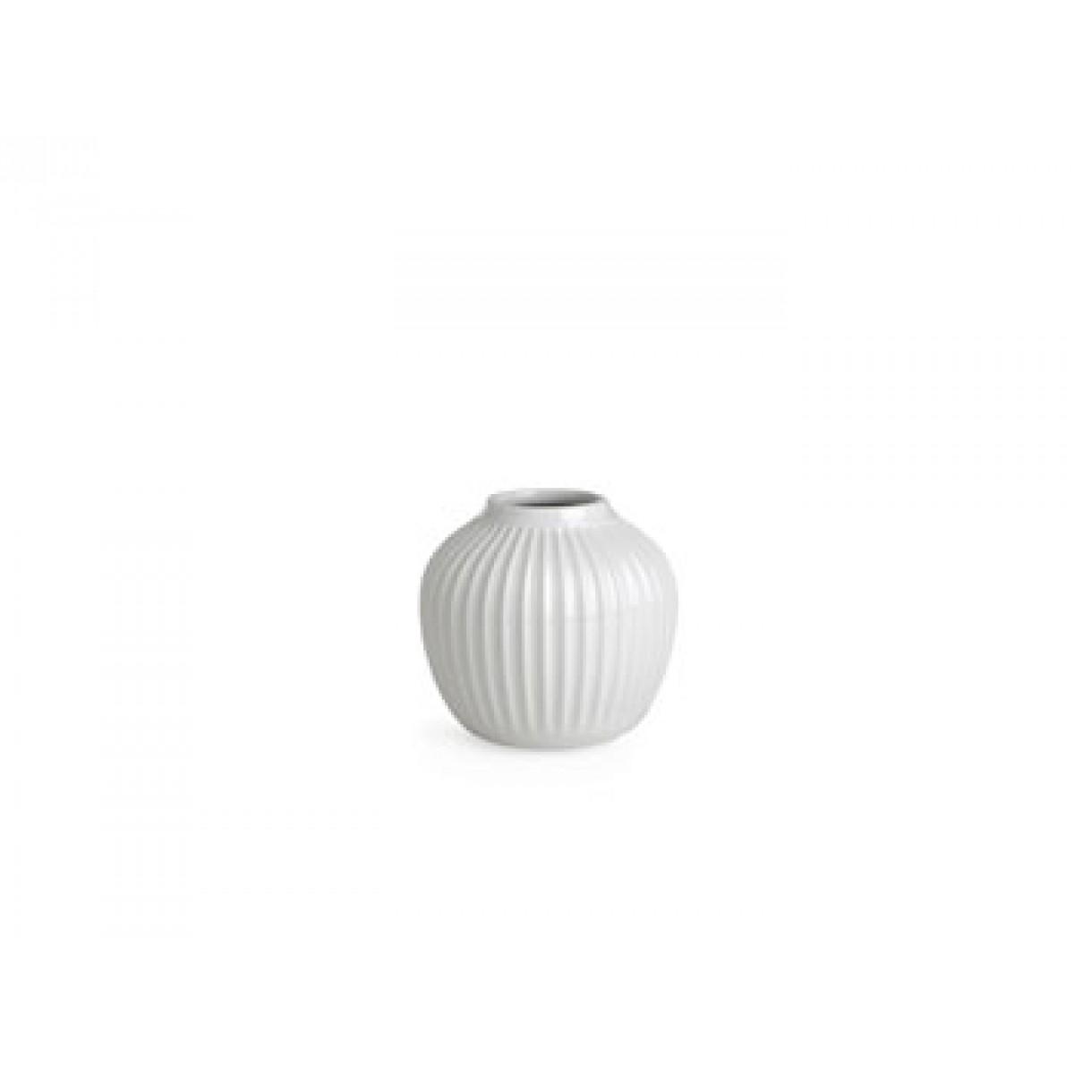 KÄHLER Hammershøi vase hvid 12,5 cm.