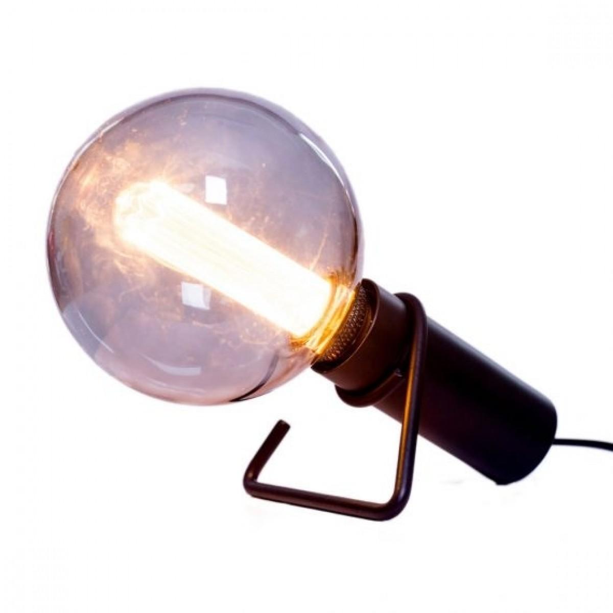 HALO DESIGN Bord / væglampe hook, sort