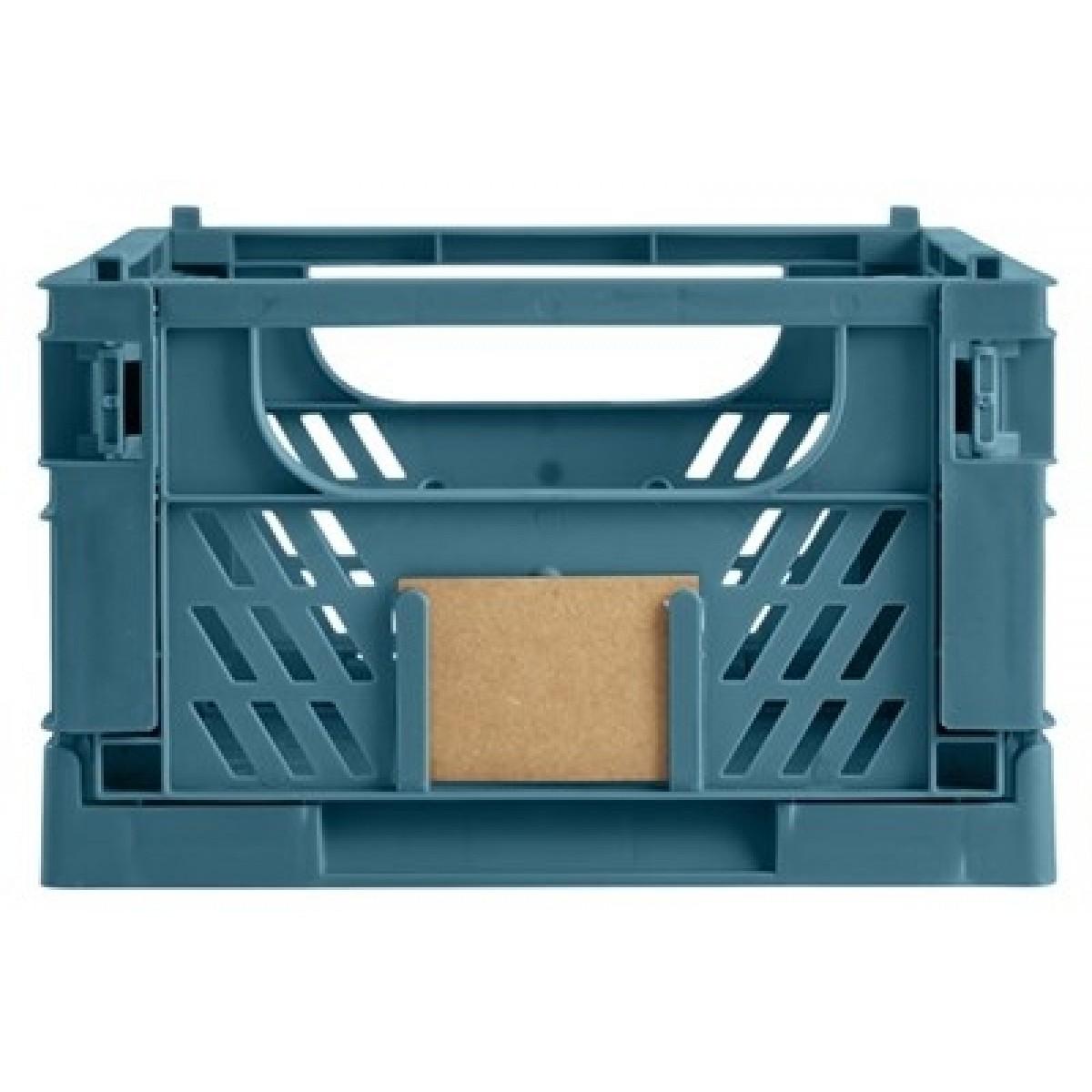 DAY Opbevaringskasse foldbar 33x24,5x15 cm tapestry blue