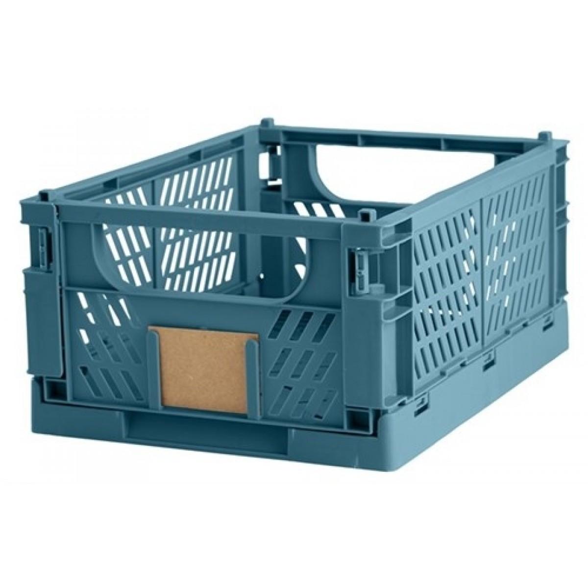 DAYOpbevaringskassefoldbar33x245x15cmtapestryblue-01