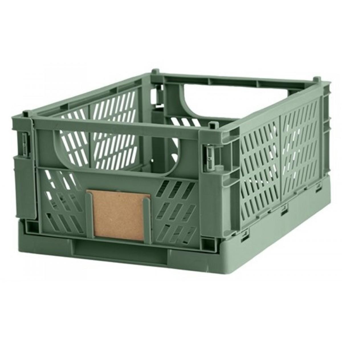 DAYOpbevaringskassefoldbar33x245x15cmdillgreen-01