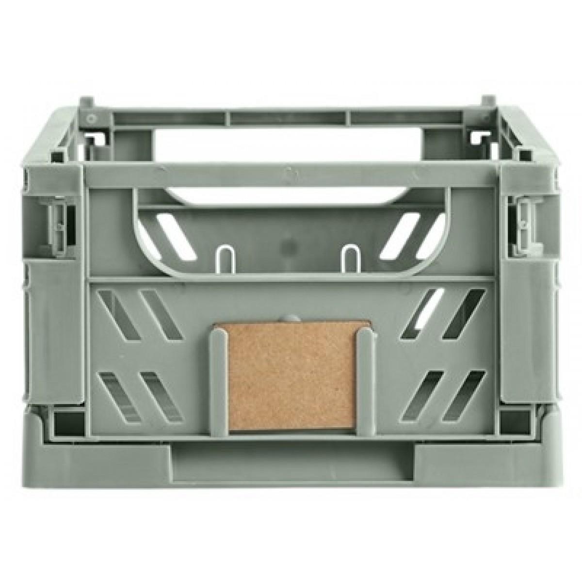DAY Opbevaringskasse foldbar 25x16,5x10 cm mint green