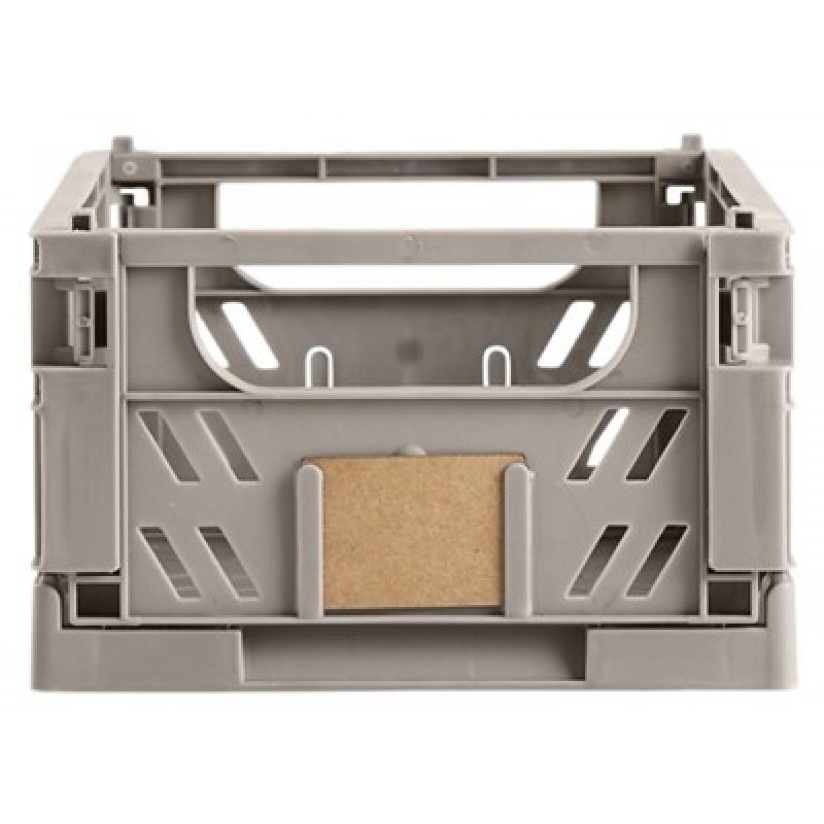DAY Opbevaringskasse foldbar 25x16,5x10 cm flint grey