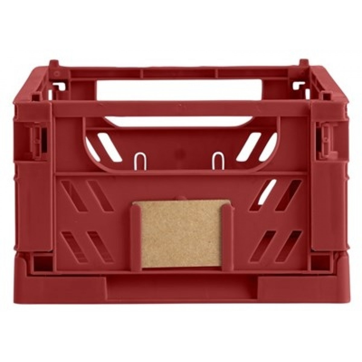 DAY Opbevaringskasse foldbar 25x16,5x10 cm ochre red