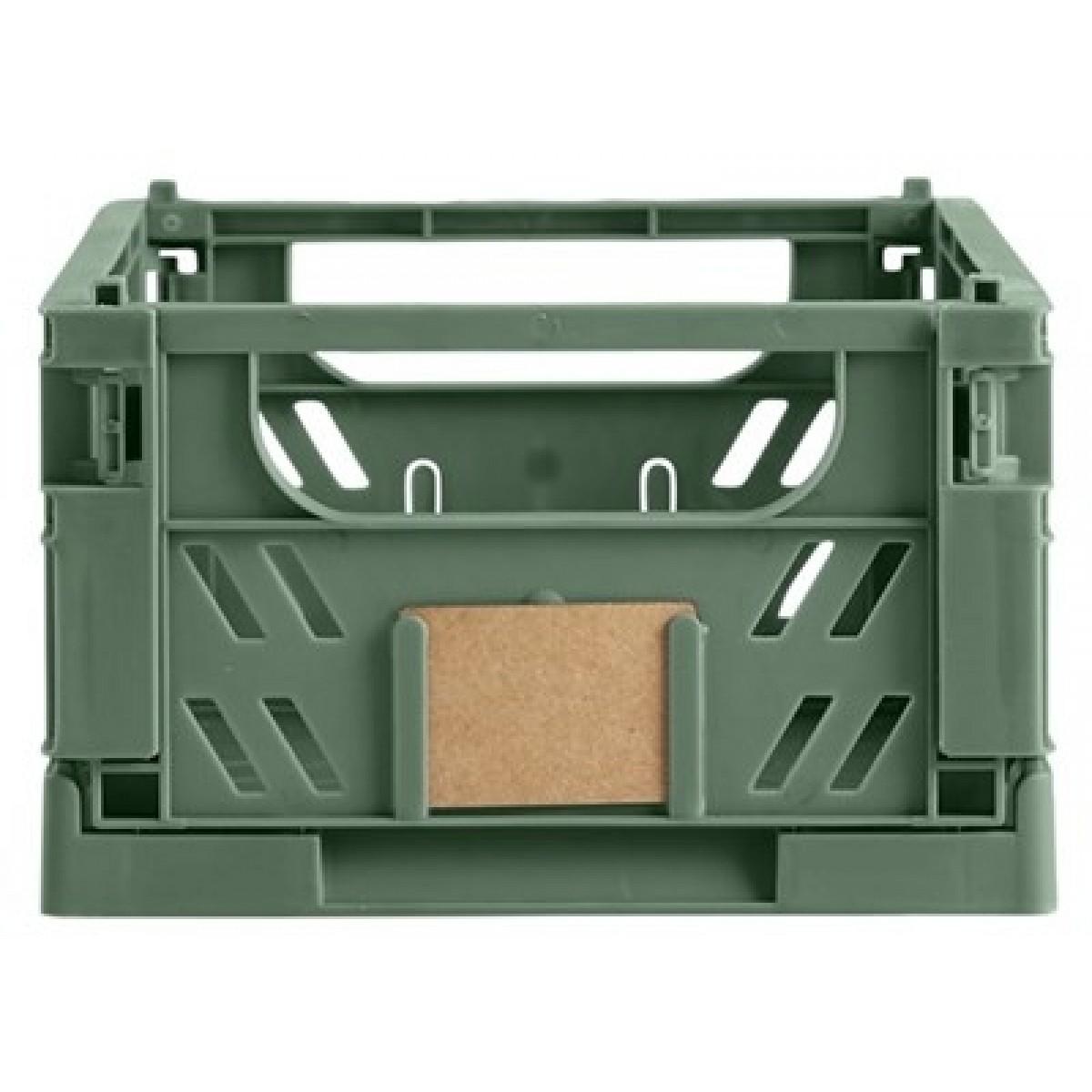 DAY Opbevaringskasse foldbar 25x16,5x10 cm dill green