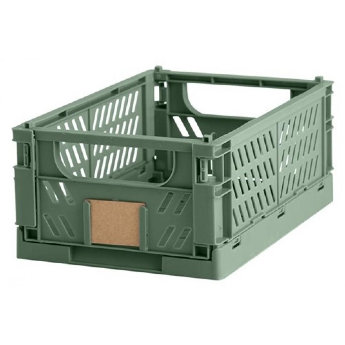 DAYOpbevaringskassefoldbar25x165x10cmdillgreen-01