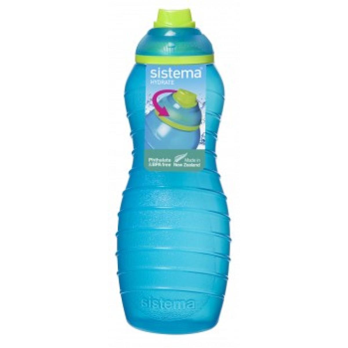 SISTEMA Davina drikkeflaske blå 700 ml.