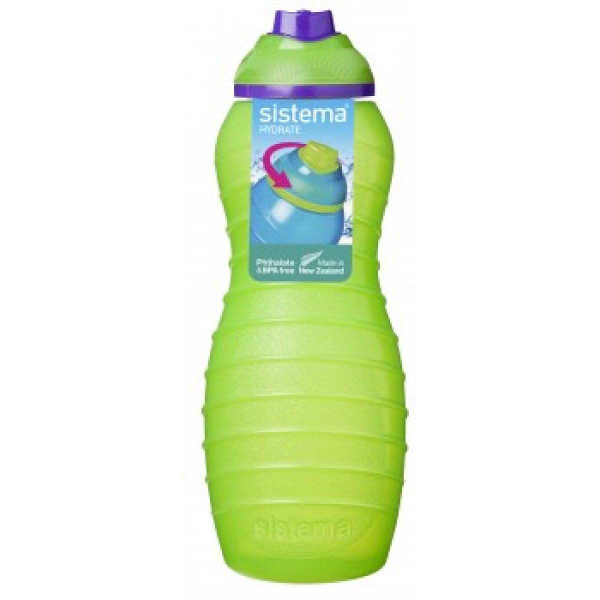 SISTEMA Davina drikkeflaske grøn 700 ml.
